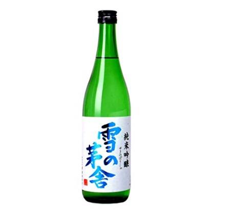 日本酒雪の茅舎の瓶