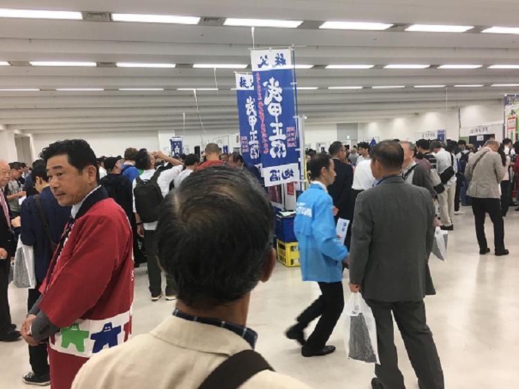 埼玉日本酒イベント会場